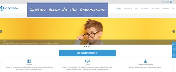 www.cegema.com : site de l'assurance cegema