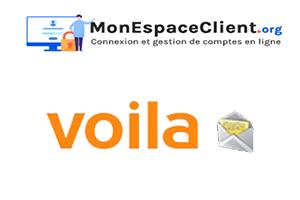 étapes de connexion Voila.fr Mail