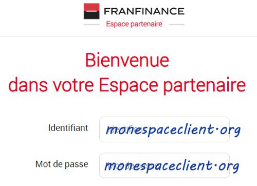 Franfinance Espace Partenaire epa