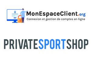 Private Sport Shop Mon compte : les étapes de connexion