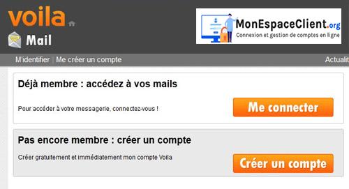 accéder à ma messagerie Voila.fr mail