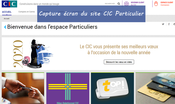 Consulter mon compte cic filbanque particulier