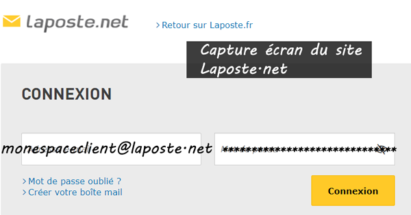 Boite Mail Laposte.net : les étapes de connexion