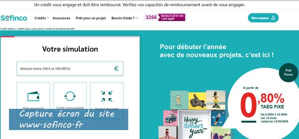 www.sofinco.fr : se connecter à mon espace client