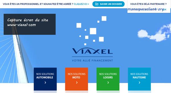 Accès à mon compte Viaxel crédit et assurance