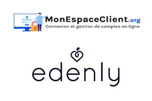 Edenly Mon compte : démarche de connexion