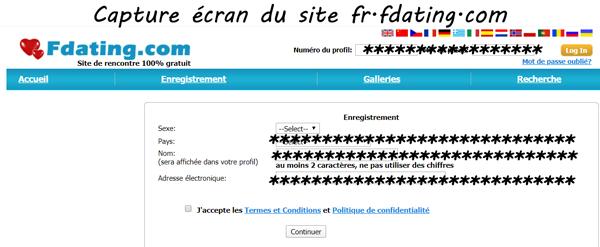 Fdating.com Inscription : Les étapes pour s'inscrire sur le site de rencontres
