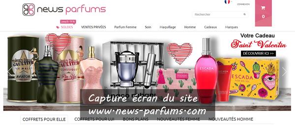 www.news-parfums.com : le site de la parfumerie en ligne