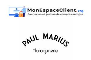 Paul Marius Mon Compte : accès à mes commandes