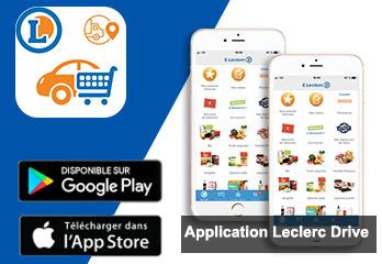 Télécharger l'application Leclerc Drive pour passer une commande en ligne