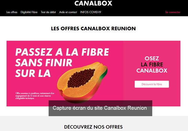 site www.canalbox-reunion.com