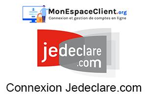 Mon espace client jedeclare.com : Connexion pour un expert comptable