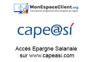 Accès Epargne Salariale sur www.capeasi.com
