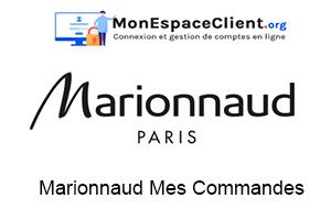Marionnaud Mes Commandes, Mon Compte en ligne