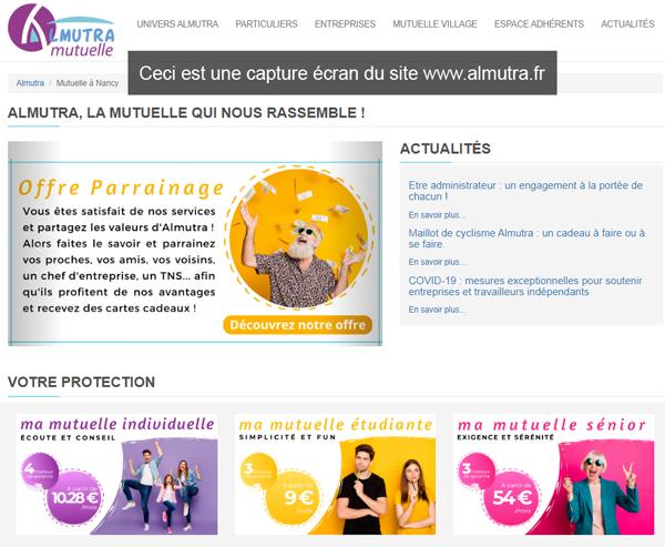 Almutra Mutuelle Mon Compte: se connecter sur le site www.almutra.fr
