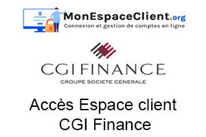 cgi finance espace client : la démarche de connexion