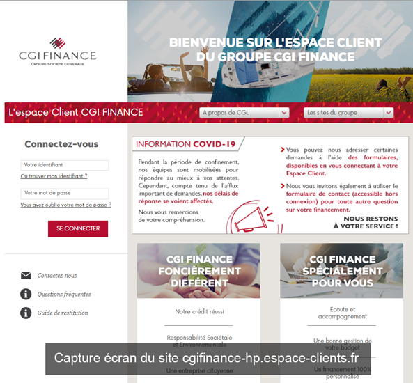 cgifinance-hp.espace-clients.fr : le site de cdi finance