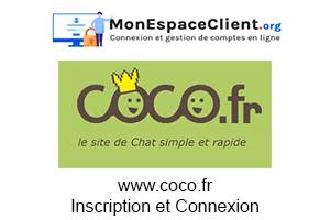 www.coco.fr: Inscription et Connexion