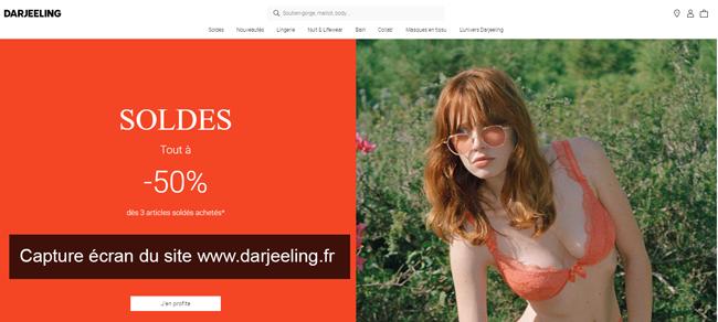 le site du magasin www.darjeeling.fr