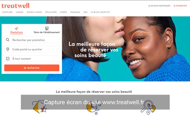 www.treatwell.fr : site de réservation en ligne