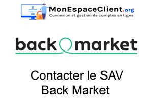 ouvrir un SAV pour contacter Back Market