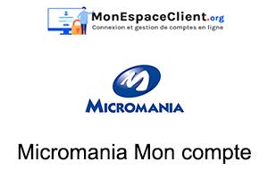 micromania.fr connexion à mon compte client