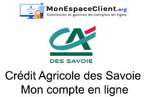 Crédit Agricole des Savoie Mon compte en ligne : le guide de connexion