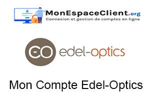 connexion à Mon Compte Edel-Optics