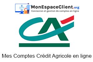 Mes Comptes Crédit Agricole en ligne