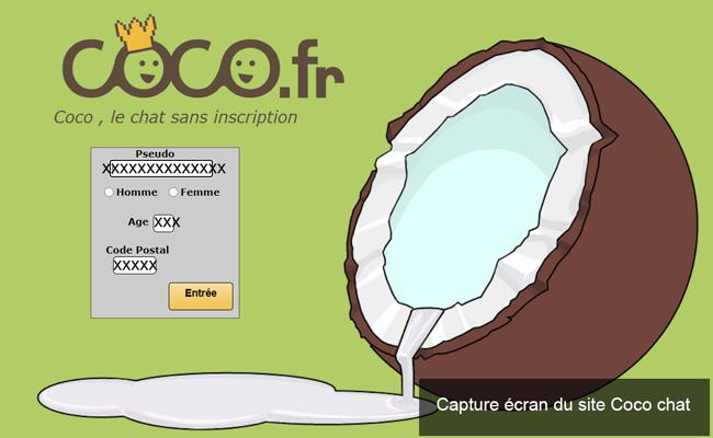 supprimer un compte sur le site coco chat gratuit