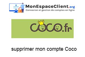 supprimer mon compte Coco.fr