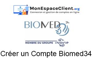 créer un compte Biomed34
