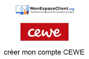 créer mon compte CEWE.fr