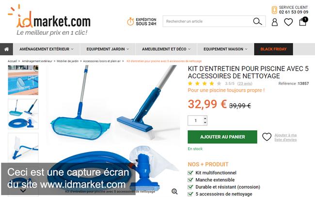 id market mes commandes en ligne