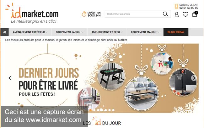 www.idmarket.com : le site d'id market