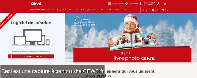 cewe.fr : le site de cewe photo