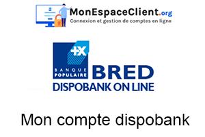 Mon compte dispobank - les étapes pour consulter l'espace client