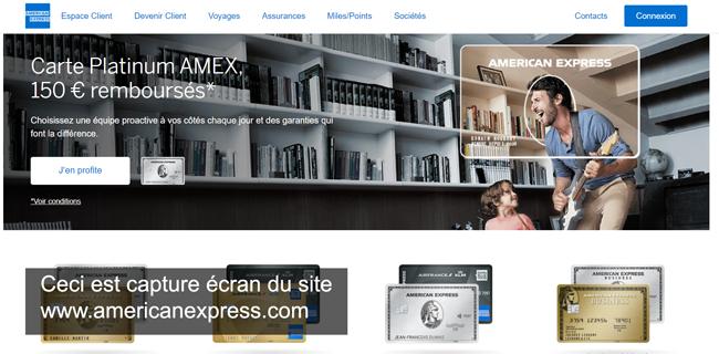 consulter mon compte amex sur le site www.americanexpress.com