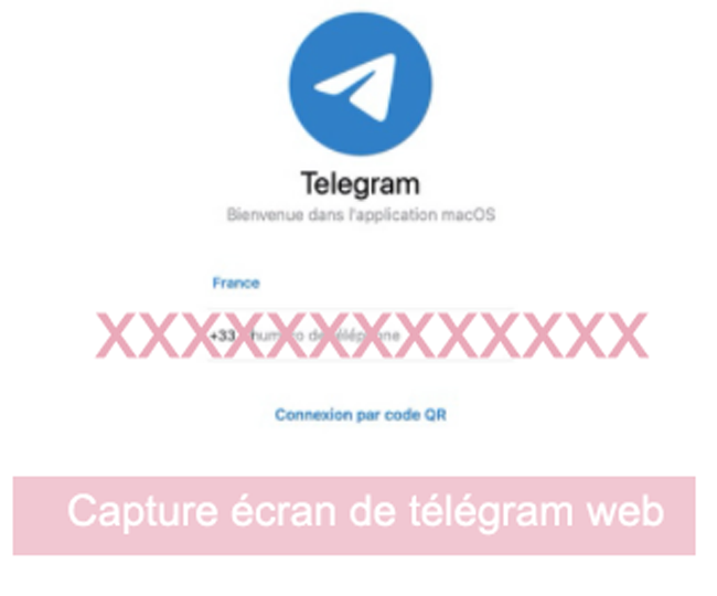 connexion à telegram pour ordinateur
