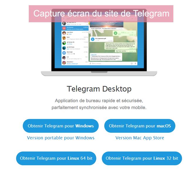 télécharger telegram for pc