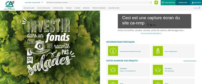 accéder à mes comptes ca-nmp.fr