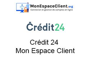 crédit24 mon espace client en ligne