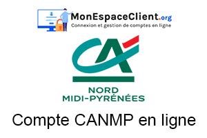 mon compte CANMP en ligne : démarche de connexion