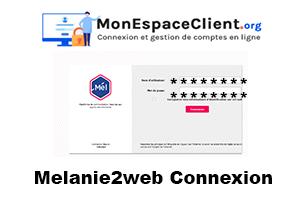 Melanie2web Connexion sur le portail