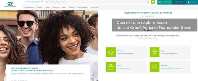 Crédit Agricole Normandie Seine mon compte en ligne