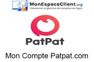 Patpat.com : connexion à mon compte en ligne