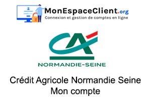 accéder à mes comptes Crédit Agricole Normandie Seine