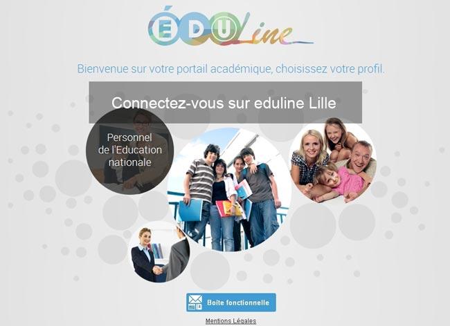accès sur eduline webmail