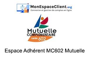 se connecter à mon Espace Adhérent MC602 Mutuelle