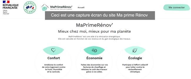 www.maprimerenov.gouv.fr créer mon compte en ligne